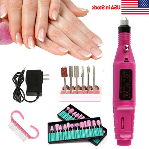 electric nail file drill portable professional manicure