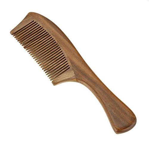 handmade sandalwood wooden comb health