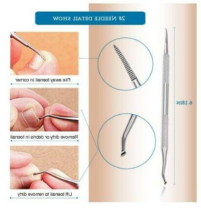 Ingrown Stainless Steel Nail Lifter Removal Clipper