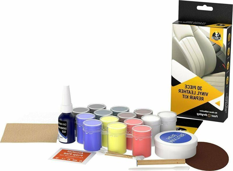 Leather Vinyl Repair Kit Recolor for Car Boots