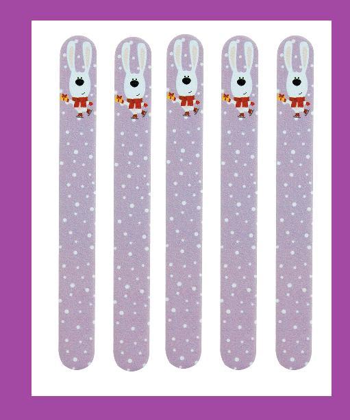 lot 5 holiday bunny nail files emery