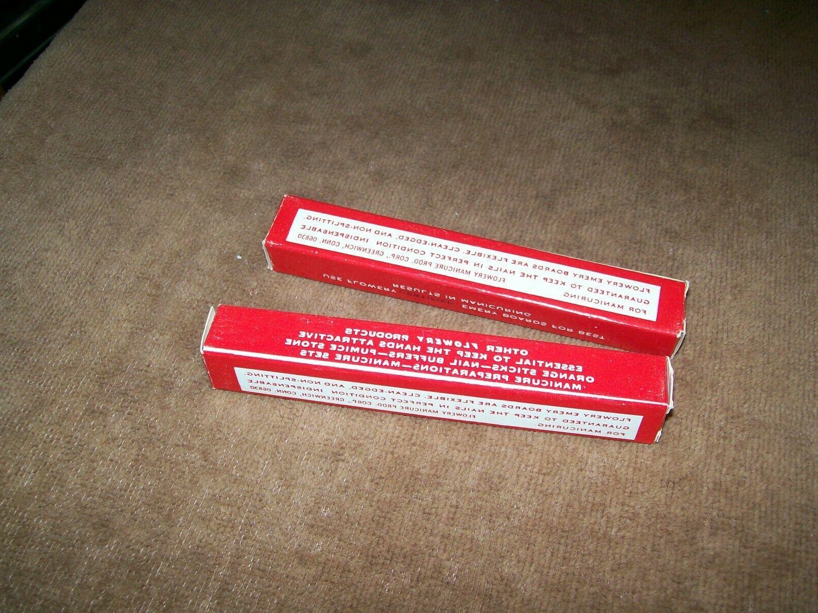 Lot Boards Nail Files 1052 NIB