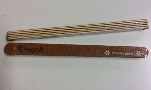 Lot Flowery Wood Emery Board - Sealed
