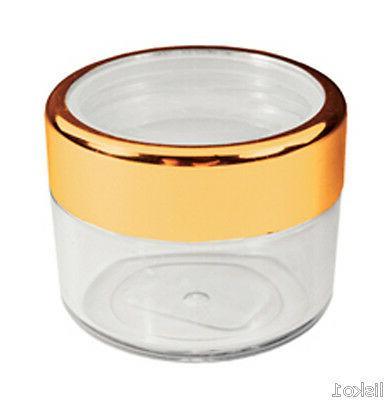 manicure nail storage 18ml plastic jar