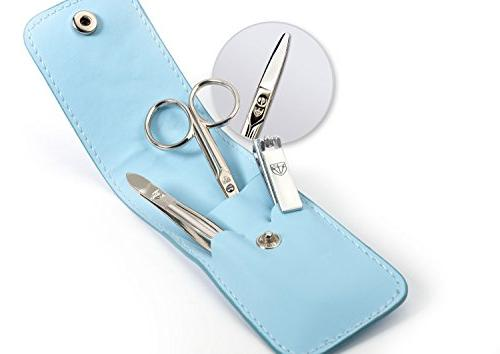 3 Swords brand for / nail scissors clipper fashion leather case BOY in