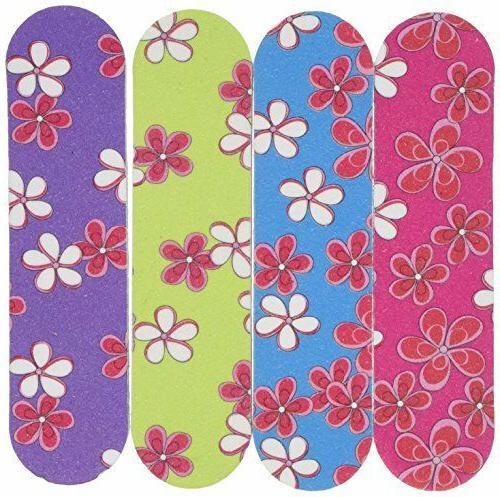 Mini Flower Emery Boards Nail Manicure Pedicure File Party F