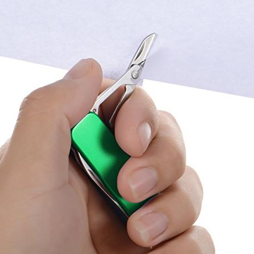 Xosoy Multitool ,Stainless Steel Clip Functions, Grooming Kit, Keychain Travel, With A Gift