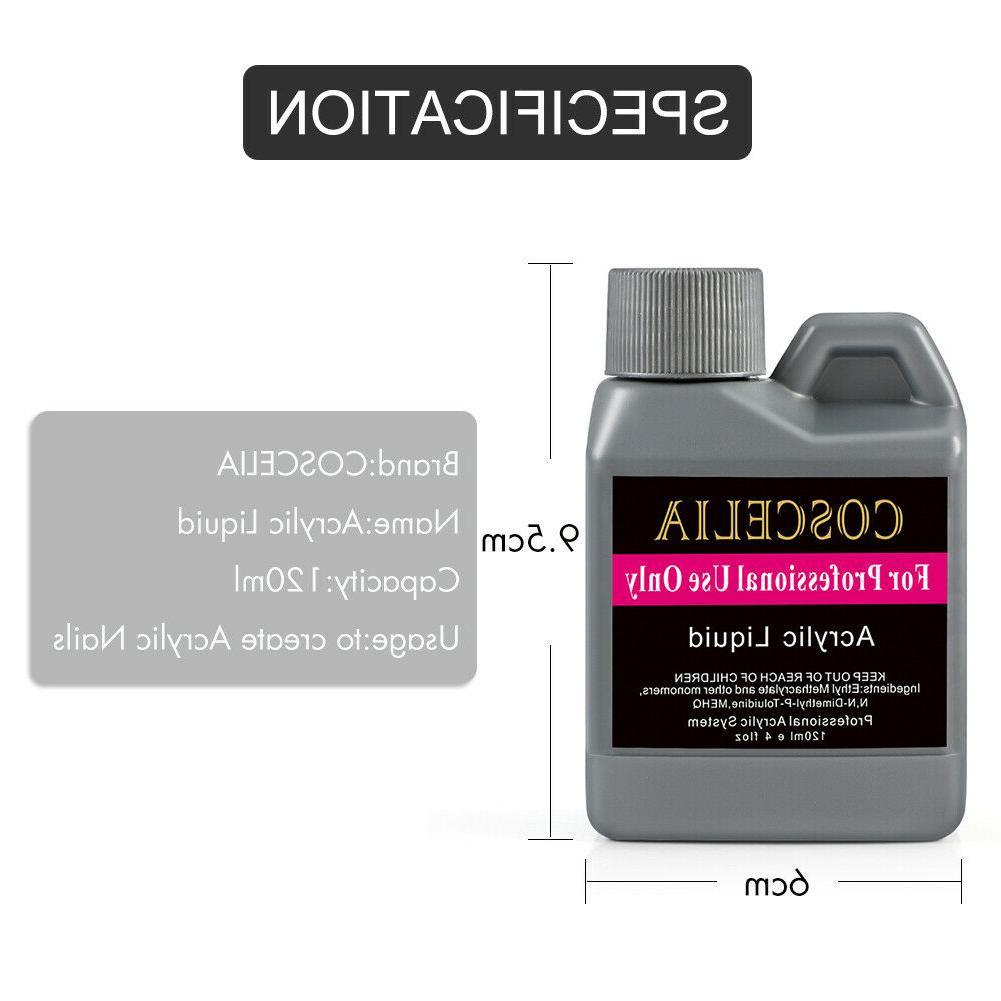 42Pc Powder Nail Powder Liquid File