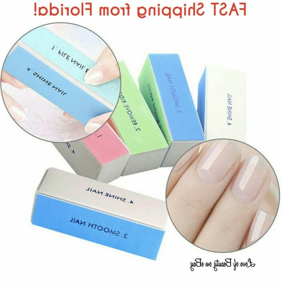 nail art shiner buffer 4 ways polish