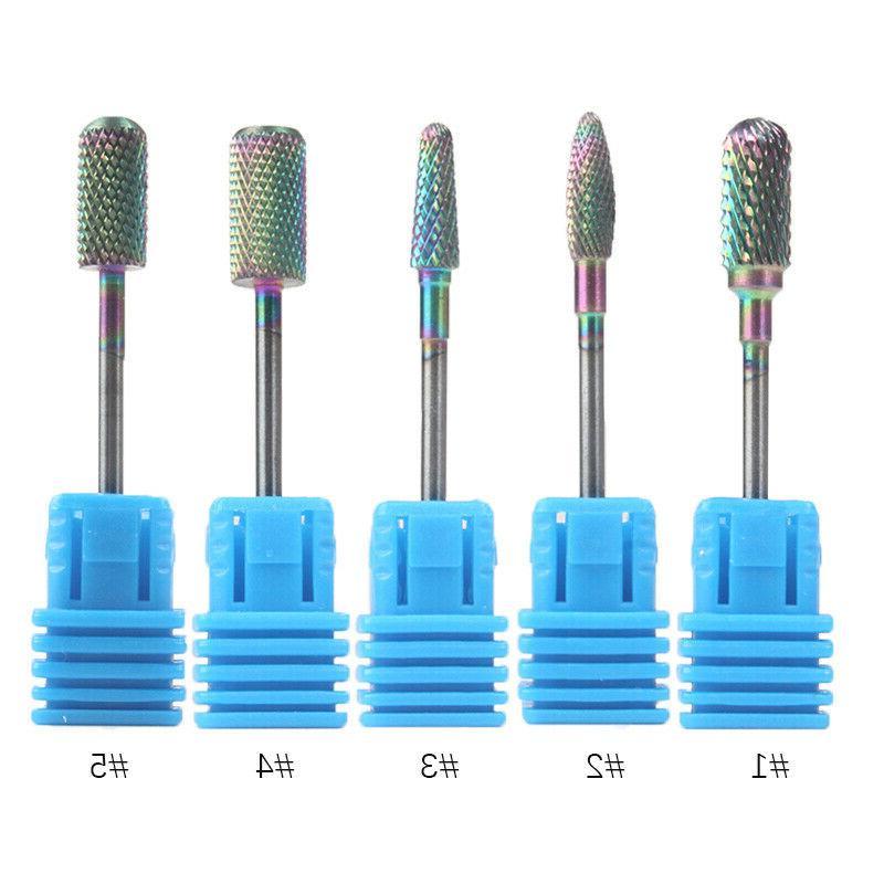 Nail Drill Bit Auroras Nail Function Accessories