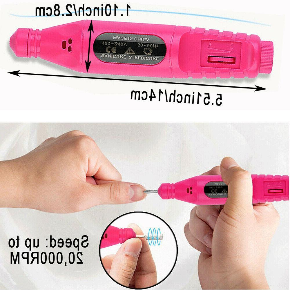 Nail File Acrylic Manicure Portable Machine