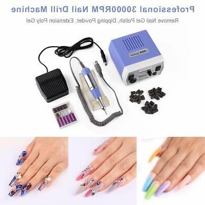 Electric Nail Machine Manicure Drill Nails