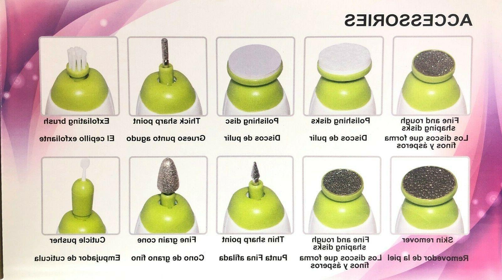 Nail Electric Pedicure - Pedi Kit