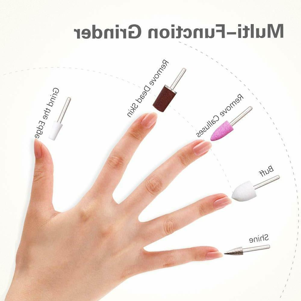 TOUCHBeauty Nail File 5in1 with Stand,Professiona