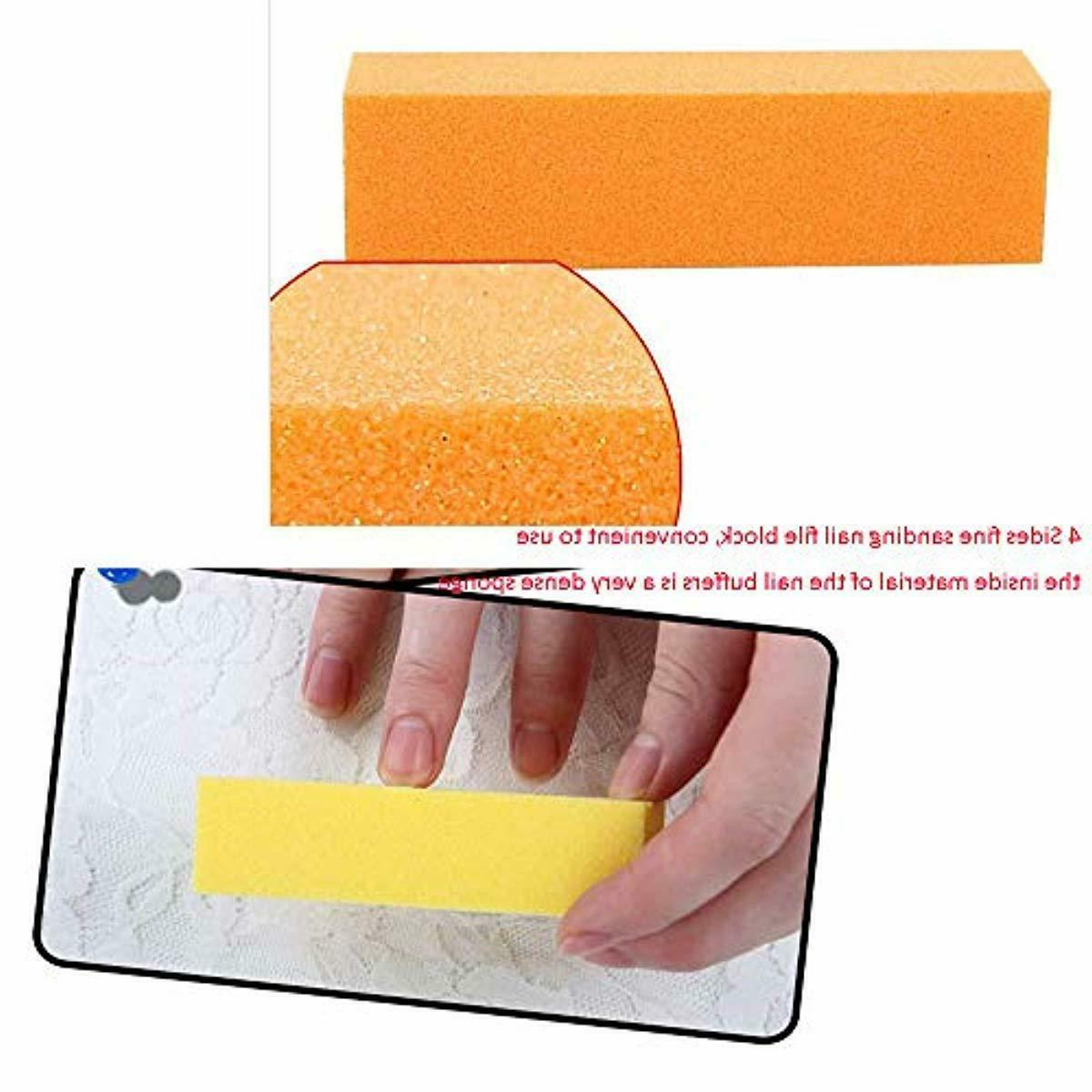 Nail TsMADDTs Professional Manicure Tools Kit Rectangular Art