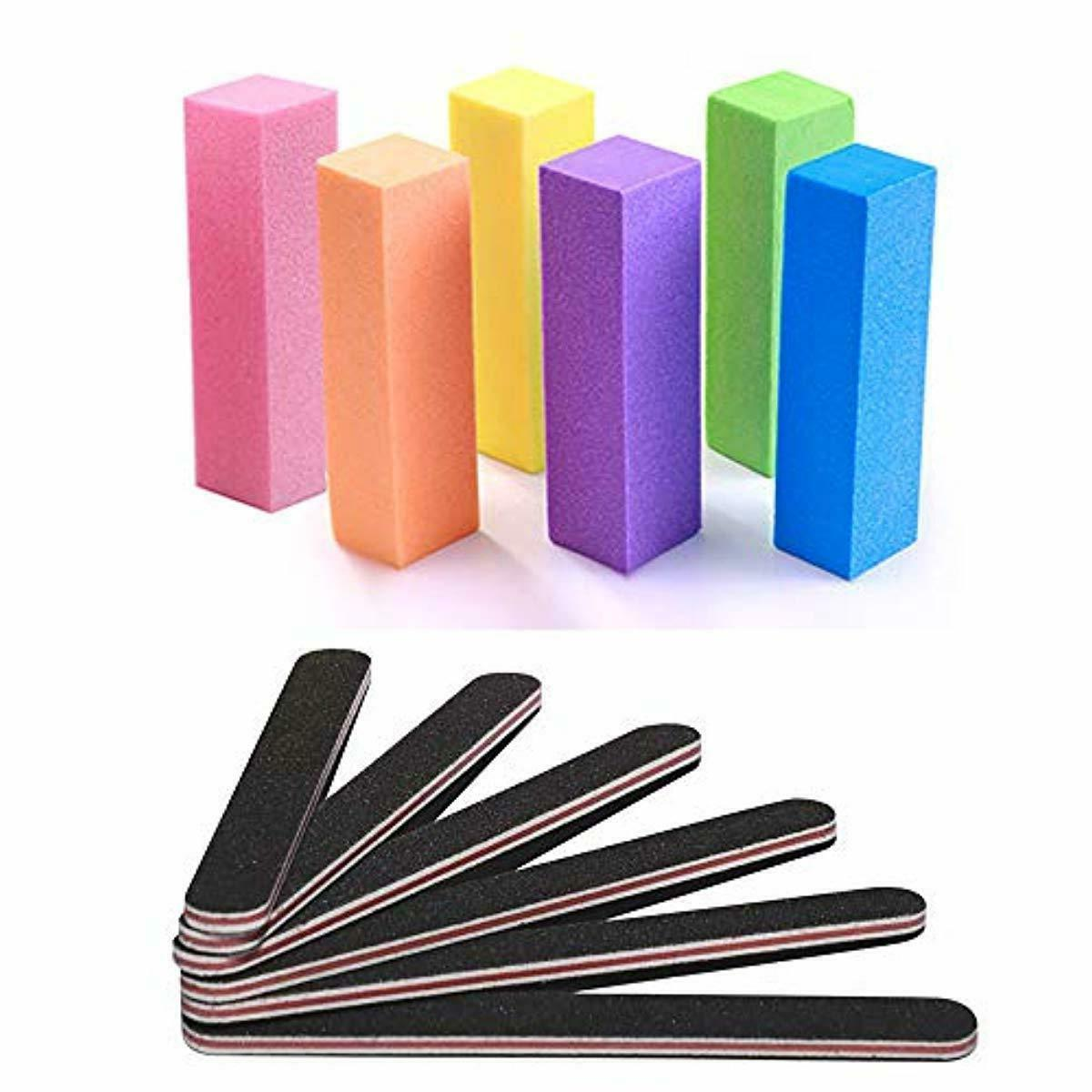 nail files and buffer professional manicure tools
