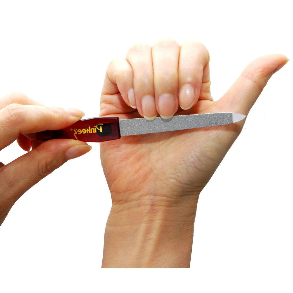 Luxxii 6.75 inch Steel Sapphire for Fingernails