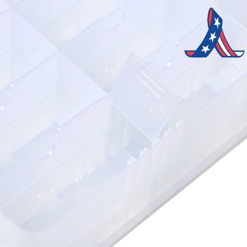 Portable Side Nail Organizer Holder Up To 48 Adjustab
