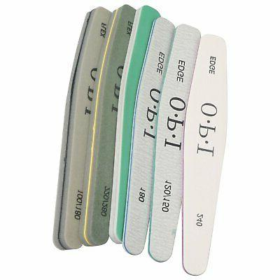 3-Pack ProPro Double Sided Manicure Nail File Emery Boards B
