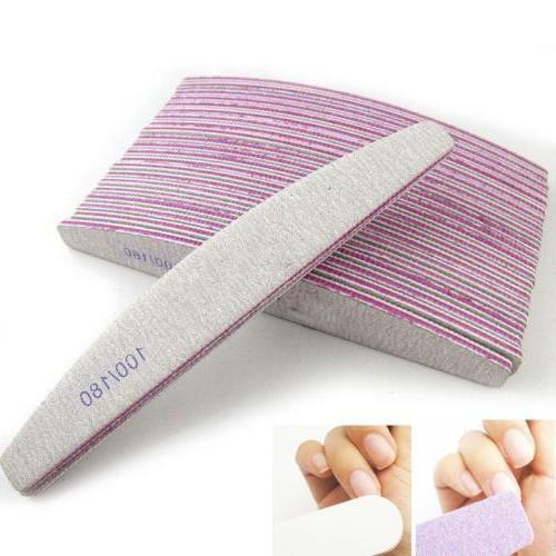pro nail art care sanding buffer manicure