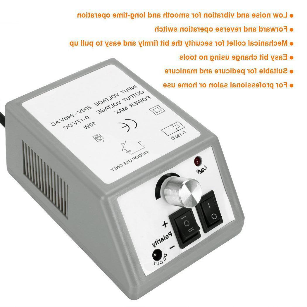 PROFESSIONAL DRILL Manicure Machine US