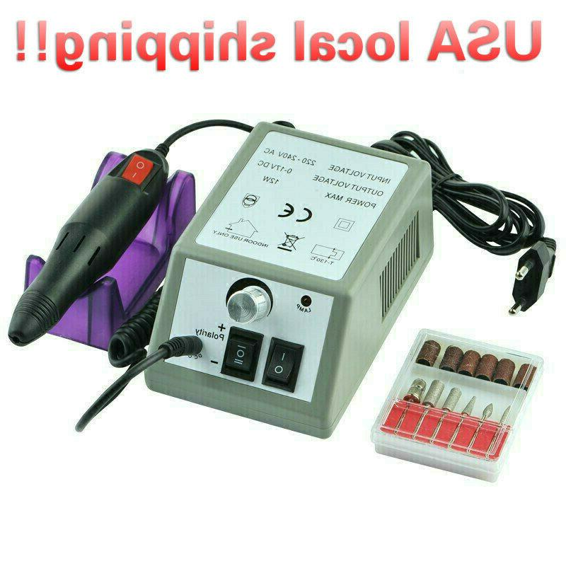 professional electric nail file drill manicure tool