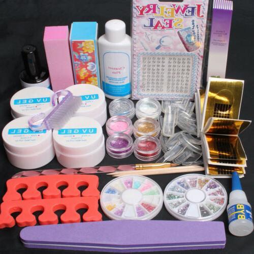 professional nail art kit acrylic glitter powder