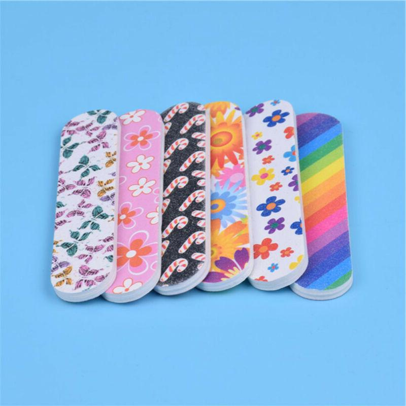 Random Nail Files Straight Round Head Grinding Nail File