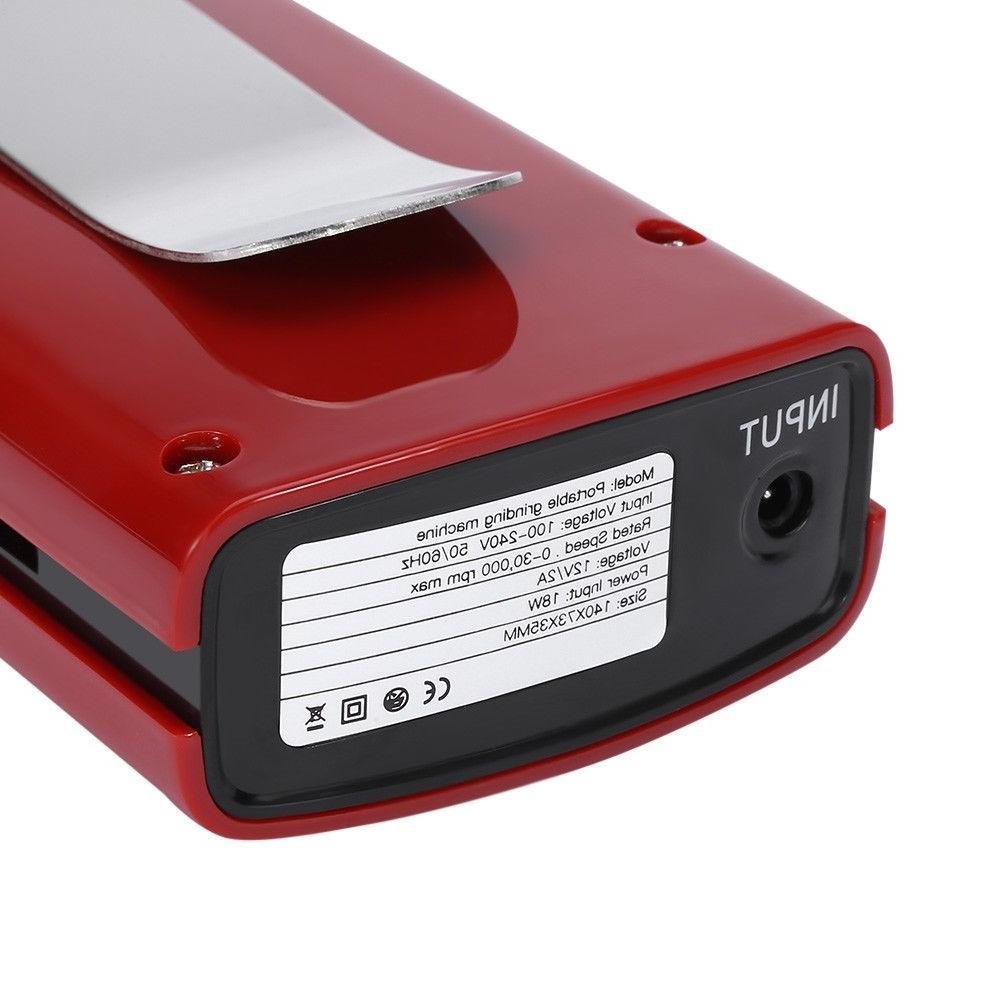 Red RPM Cordless Nail Kits Electric