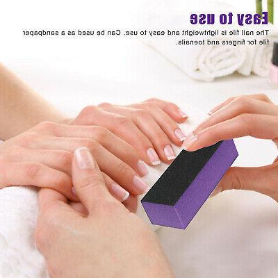 Sanding Nail Block Art Manicure Finger