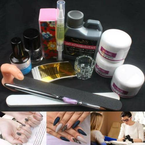 us 120ml acrylic liquid nail art set