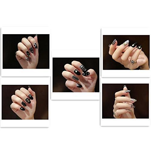 world stamping nail stickers glitter