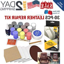 leather and vinyl repair kit recolor restoration