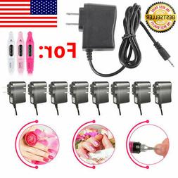 lot ac adapter for nail file drill