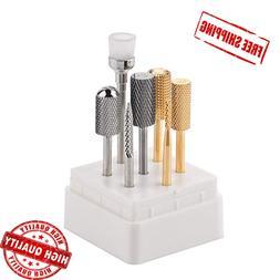 MAKARTT Nail Drill Bits Set 7PCs B-10 Professional Electric