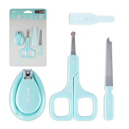 Baby Manicure Kit Infant Nail Care Set of 3 - Nail Clipper +