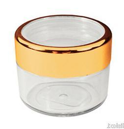 Manicure-Nail storage 18ml. plastic jar for glitters-powders
