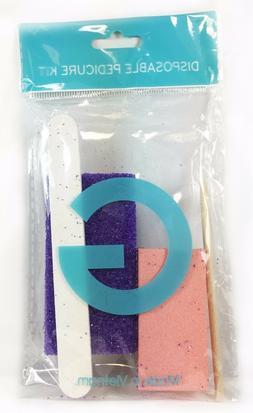 Mini Nail File Buffer Pedicure Manicure Pumice G Disposable