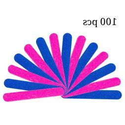 Winstonia Mini Nail Files 100 Pcs Disposable Beauty Care Hyg