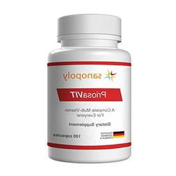 Multivitamin Supplement | Priosa VIT | Vitamins D,E,K2,C,B1,