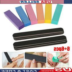 Nail Art Tips Sandpaper Block Buffer Buffing Manicure File P