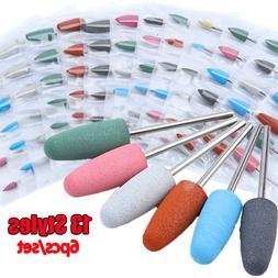 Nail File Cutter Tool Diamond Ceramic Nail Art Equipment  Na
