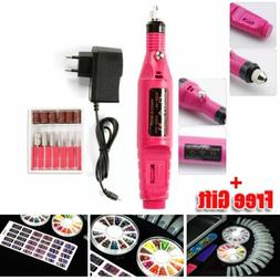 Nail File Drill Kit Electric Professional Nail Drill Pen Acr