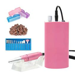 Nail File Electric Acrylic Drill Rechargeable Manicure Tool