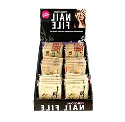 Nail File Matchbook Display Case Of 36 by DDI