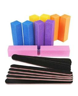 Nail Files and Buffers, Professional Manicure Tools 20 pcs /