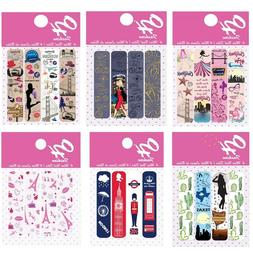 OH Fashion Nail Files Beauty 1 Pack of 4 Cities Designs Nail