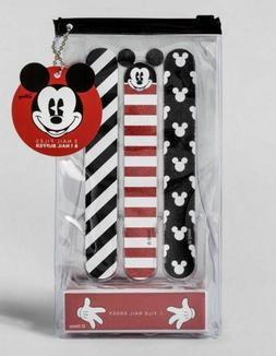 DISNEY Nail SET with 3 Files and 4 Sided Buffer COLLECTION R