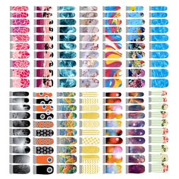 Winstonia Nail Wraps Vinyl Decal Easy Quick Manicure Art Sti