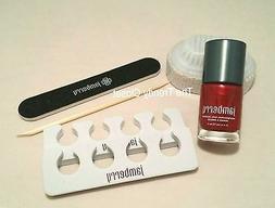 💖Jamberry Nails Ruby Pedicure Set- Polish, File, Pumice S